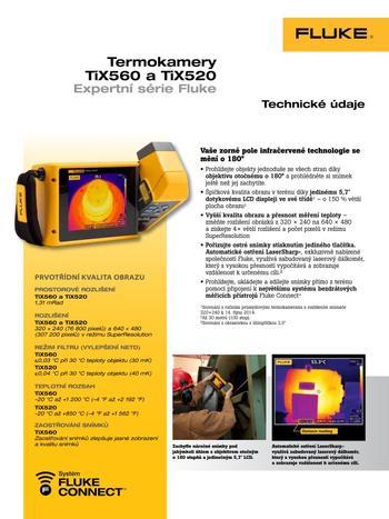 Termokamery TiX560 a TiX520