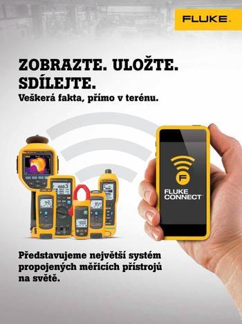 Fluke Connect - Zobrazte, uložte, sdílejte