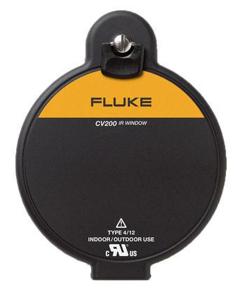IR okno s ručním otočením západky, Fluke CV400 ClirVu® 95 mm (4 palce) - 1