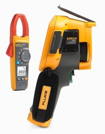 FLUKE Ti200 termokamera + klešťový multimetr Fluke 376 FC - 1