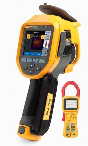 Fluke Ti300 PRO termokamera + Fluke 345 - 1