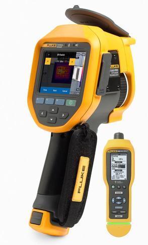 Fluke Ti300 PRO termokamera + Fluke 805 FC - 1