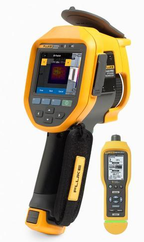 Fluke Ti400 PRO termokamera + Fluke 805 FC - 1