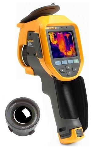 FLUKE Ti450 termokamera + objektiv FLUKE - 1