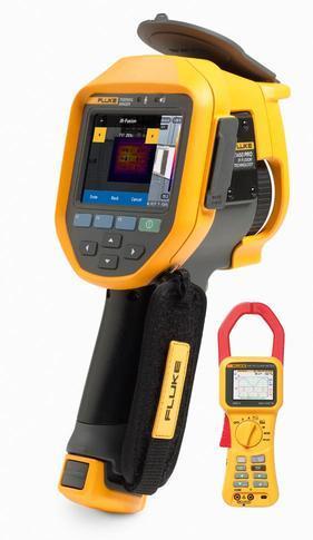 Fluke Ti450 PRO termokamera + Fluke 345 - 1