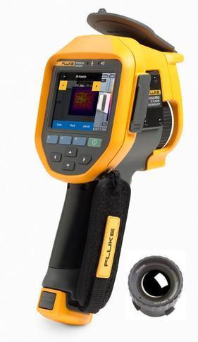 Fluke Ti450 PRO termokamera + objektiv Fluke - 1