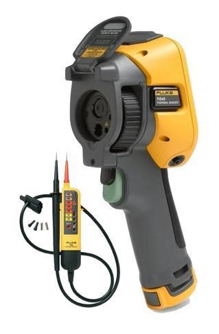 Termokamera FLUKE TiS45 + zkoušečka FLUKE T90 - 1