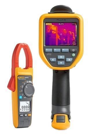 Termokamera FLUKE TiS75 + klešťový multimetr Fluke 376 FC - 1