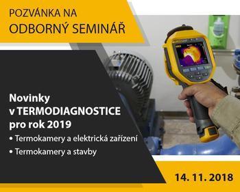 Odborný seminář - Novinky v termodiagnostice pro rok 2019