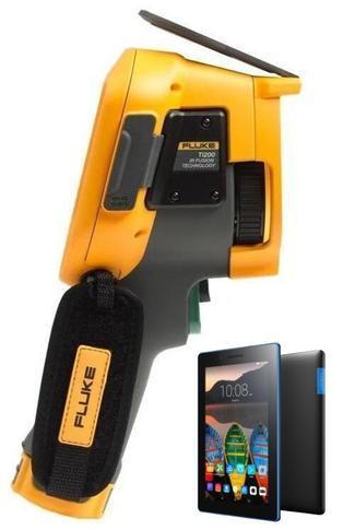 "FLUKE Ti200 termokamera + tablet Lenovo TAB 3 7"" Essential Ebony - 1"