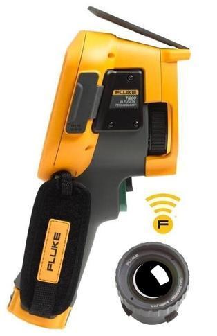 FLUKE Ti200 termokamera + objektiv FLUKE - 1