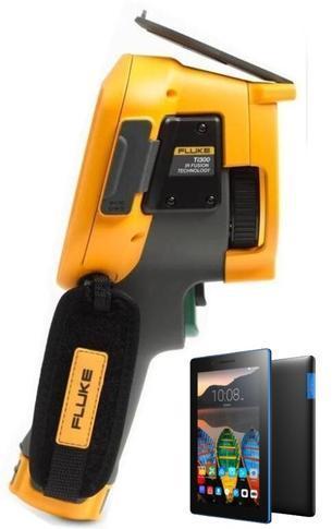 "FLUKE Ti300 termokamera + tablet Lenovo TAB 3 7"" Essential Ebony - 1"