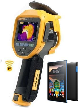 "FLUKE Ti400 termokamera + tablet Lenovo TAB 3 7"" Essential Ebony - 1"