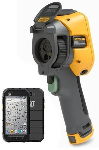 Termokamera FLUKE TiS45 + mobilní telefon Caterpillar CAT S30 Dual SIM - 1