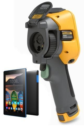"Termokamera FLUKE TiS45 + tablet Lenovo TAB 3 7"" Essential Ebony - 1"