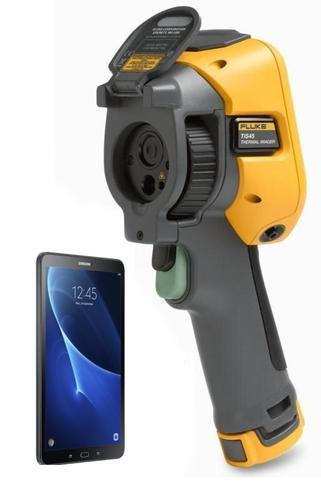 Termokamera FLUKE TiS45 + tablet Samsung Galaxy Tab A 10.1 WiFi černý - 1