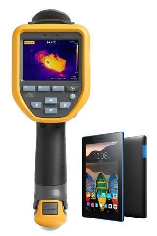 "Termokamera FLUKE TiS55 + tablet Lenovo TAB 3 7"" Essential Ebony - 1"
