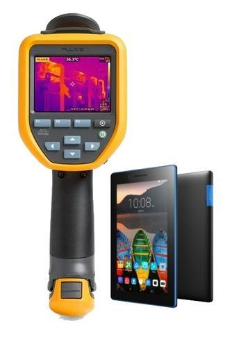 "Termokamera FLUKE TiS75 + tablet Lenovo TAB 3 7"" Essential Ebony - 1"