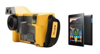 "Termokamera FLUKE TiX500 + tablet Lenovo TAB 3 7"" Essential Ebony - 1"