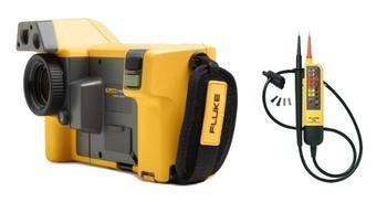 Termokamera FLUKE TiX500 + zkoušečka FLUKE T90 - 1