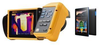 "Termokamera FLUKE TiX520 + tablet Lenovo TAB 3 7"" Essential Ebony - 1"