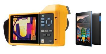 "Termokamera FLUKE TiX560 + tablet Lenovo TAB 3 7"" Essential Ebony - 1"