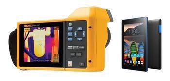 "Termokamera FLUKE TiX580 + tablet Lenovo TAB 3 7"" Essential Ebony - 1"