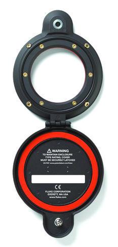 IR okno s ručním otočením západky, Fluke CV400 ClirVu® 95 mm (4 palce) - 2