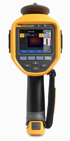 Fluke Ti450 PRO termokamera + Fluke 345 - 3