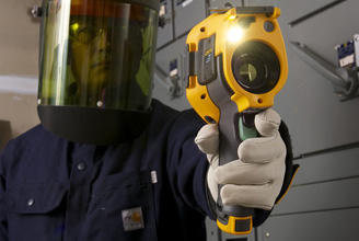 FLUKE Ti300 termokamera + objektiv FLUKE - 3